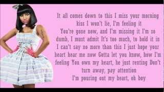 Nicki Minaj ft Chris Brown- Right By My Side Lyrics