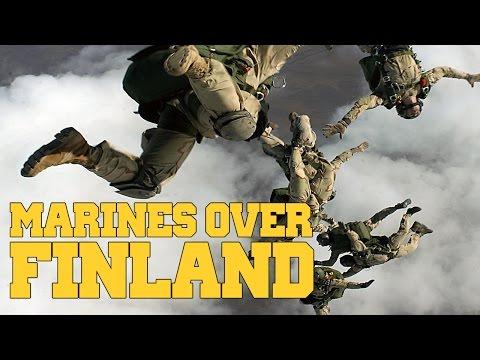Arma 3 - Marine Paradrop into Finland [1080p]