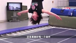 Chinese diving team sings for Barcelona 2013 - 我的骄傲 My Pride