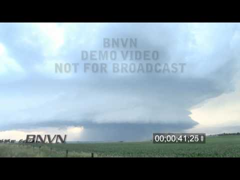 6/23/2010 Super Cell Thunderstorm Time Lapse Footage