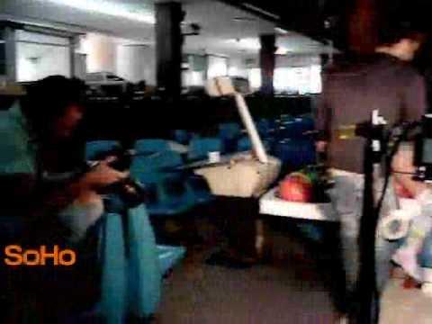 SoHo Tv María Patricia Montoya detras de camaras