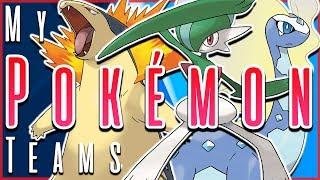 My Pokémon Teams for EVERY Generation
