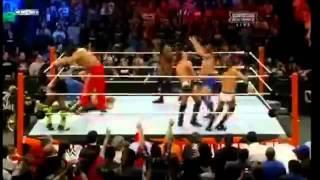 WWE Royal Rumble 2012 Highlights - 30 Man Royal Rumble Match