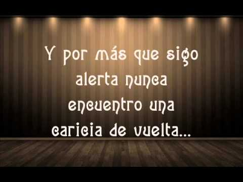 David Bisbal- No amanece (letra)