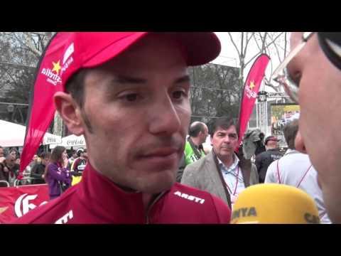 Joaquim Rodriguez despues la septima etapa de la Volta a Catalunya 2016