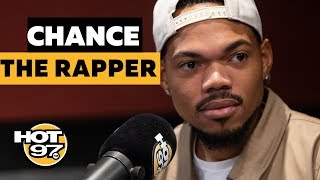 Chance The Rapper GRILLS Ebro About Top Rappers List + Gets VERY Personal About Family & Life