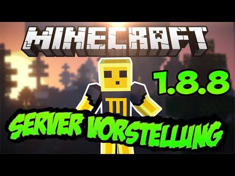 Minecraft Server Vorstellung 1.8 Cracked [German]