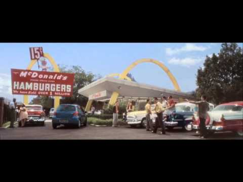 McDonalds U.K. 1955 Burger Around The Corner TV commercial voiced by Jeff McNeal