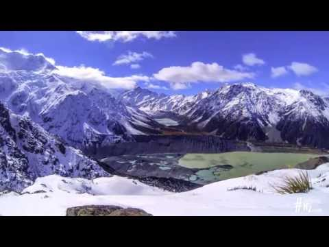 Mt Cook / Aoraki Timelapse -  Highest Mountain in New Zealand