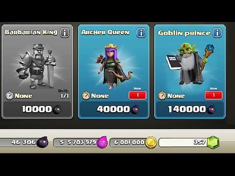 Clash Of Clans - NEW DARK HERO??? Goblin Prince (Hidden character!?!)