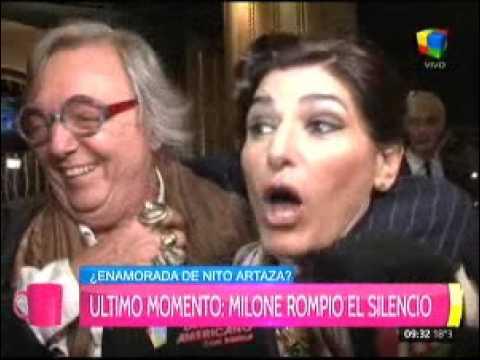 Cecilia Milone: Lo que quiero compartir con Nito es...