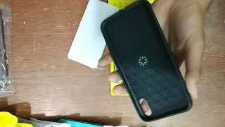 Funda con anillo LEEHUR para el iPhone XS Max - Negro - GEARBEST