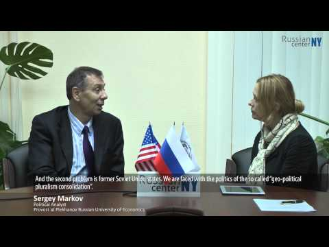 Sergey Markov on US-Russia Relations. RCNY.