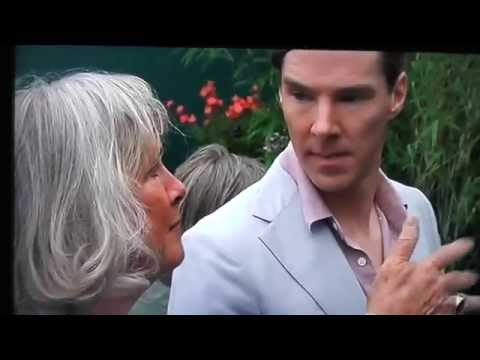 Benedict Cumberbatch at Chelsea Flower Show Part 2