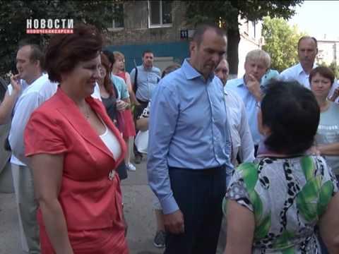 С рабочим визитом Новочебоксарск посетил глава Чувашии Михаил Игнатьев