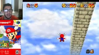 Super Mario 64 Aprendendo a Voar Detonado #4