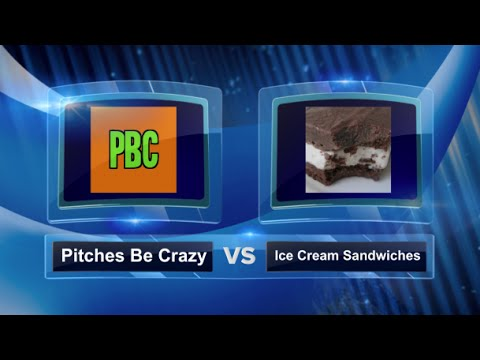 Pitches Be Crazy vs Ice Cream Sandwiches - Round of 16 - Mile High Kickball Open Open #MHKO2014