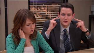 The Office - Gabe is as smooth as a porpoise for Erin.