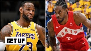 If Kawhi joins the Lakers: Over/Under 1.5 NBA Championships | Get Up