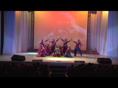 Indian Dance by Russian people