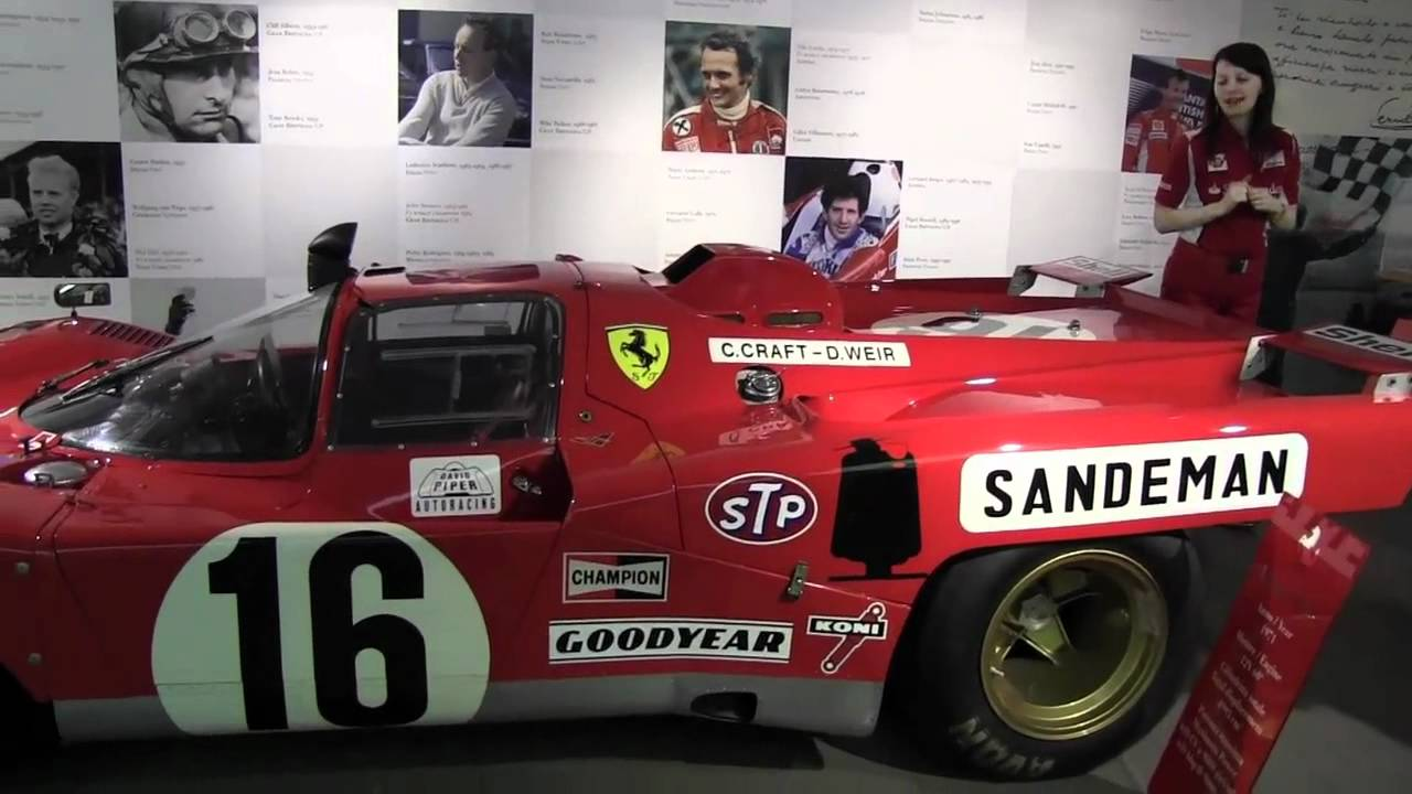Ferrari F1 Museum Factory Tour Maranello Italy Youtube
