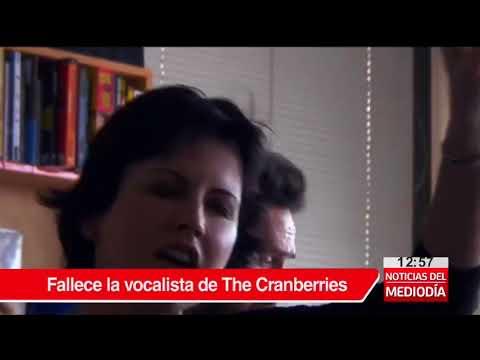 Muere Dolores O'Riordan, cantante del grupo irlandés The Cranberries