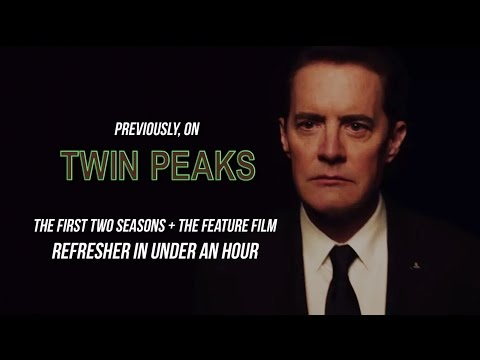 Twin Peaks Recap/Epic Retrospective (First Two Seasons + Fire Walk With Me)