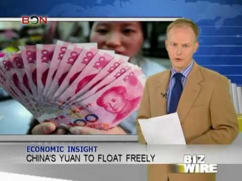 China's yuan to float freely - Biz Wire - May 14,2013 - BONTV China