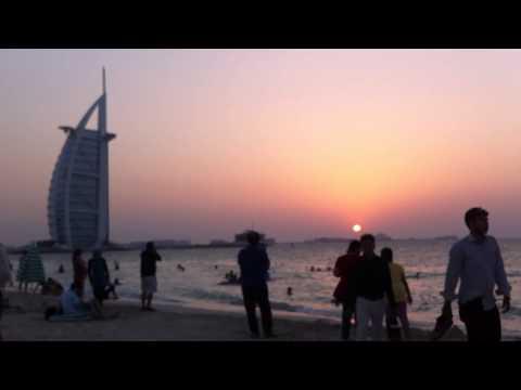 Hotel Burk al Arab, Beach near the Hotel