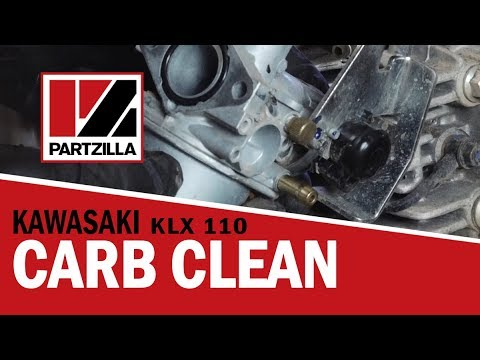How to Clean a Carburetor on a Dirt Bike   Kawasaki KLX   Partzilla.com