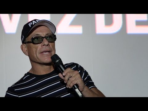 Lukas Paris Premiere - Jean-Claude Van Damme, Sveva Alviti (The Bouncer, 20/08/2018)
