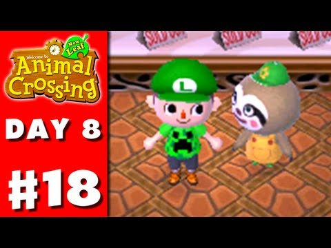 Animal Crossing: New Leaf - Part 18 - Gardening Shop (Nintendo 3DS Gameplay Walkthrough Day 8)