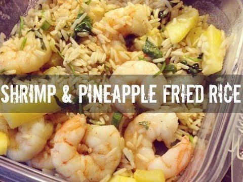 Shrimp and Pineapple Fried Rice Healthy Meal Prep Idea- Gauge Girl Training