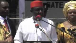 Inauguration Ceremony of H.E Gov.Rochas Okorocha and H.E Jude Agbaso -Official
