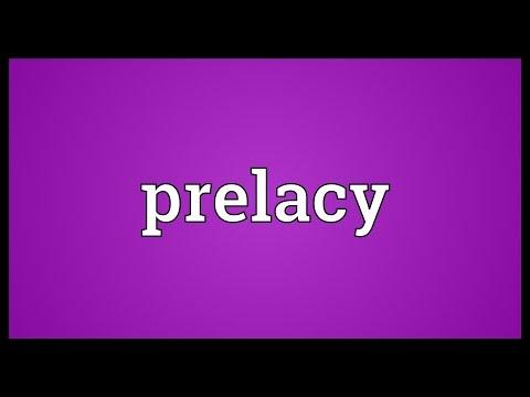 Header of prelacy
