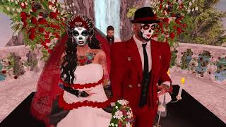Lucas & Isabella Second Life Wedding - 11.11.17