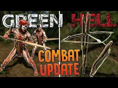 Tribal Warriors Attack My Jungle Base Camp in Green Hell - Human Traps Player Armor & More