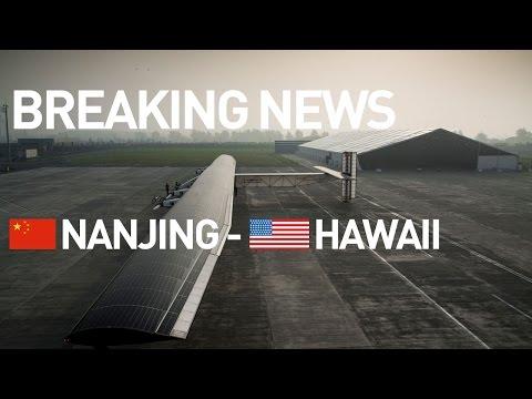 LIVE: Solar Impulse Airplane - Breaking news - #RTW Attempt