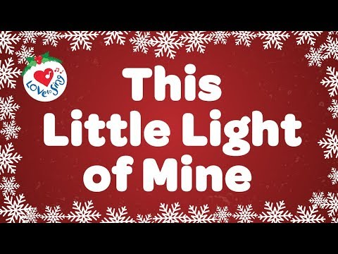- This Little Light Of Mine With Lyrics Kids Christmas Song - YouTube