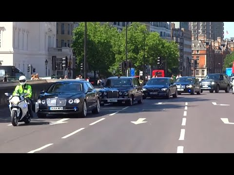 Metropolitan Police Special Escort Group Royal Convoy x9