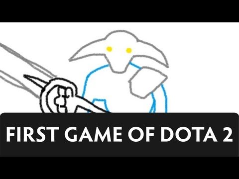 A Comical View of Dota 2 - My First Game