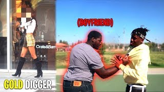 This Gold Digger's Boyfriend Fought Me FACE to FACE! *Gone Bad*