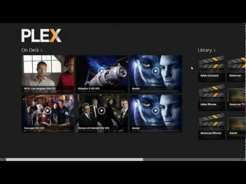 Tech Review Plex Media Player for Windows 8: Plex Media Player Running on Windows 8