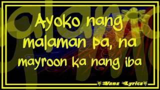 Bugoy Drilon - Bulag Sa Katotohanan - Lyrics