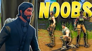 Three Little Noobs and THE BIG BAD WICK - Fortnite Short Film