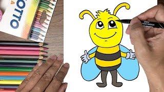 Dạy bé tập vẽ con ong