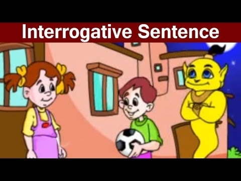 What is an Interrogative Sentence? (English Grammar) - Learn English For Kids