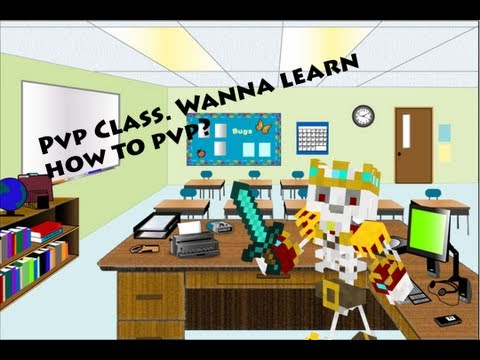 Minecraft : How to Pvp (Pvp class) ep2