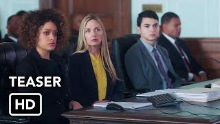 For The People (ABC) Teaser Promo HD - Shondaland legal drama