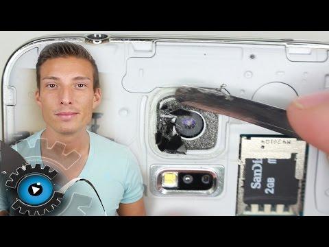 Samsung Galaxy S5 Kamera Linse Glas Wechseln unter 1 minute Reparieren [Deutsch] Camera lens